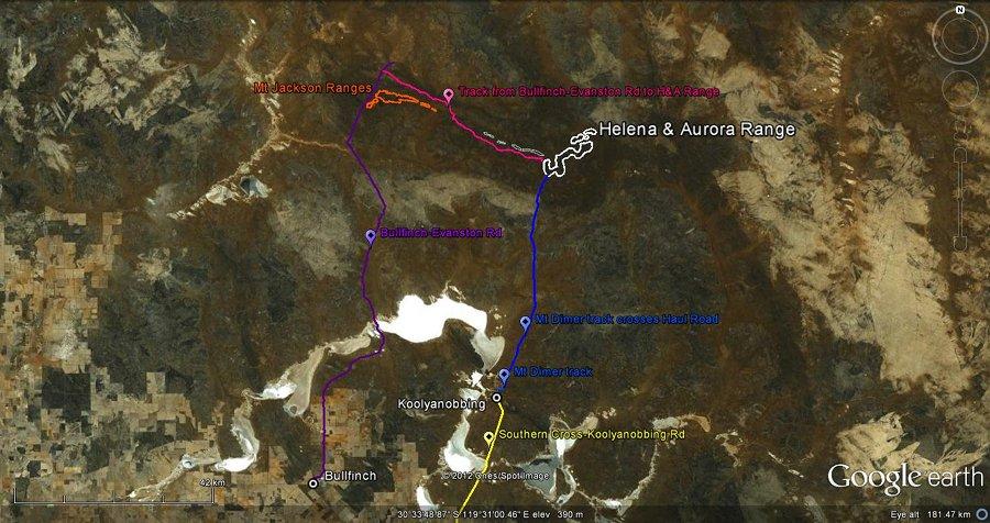 Maps & Location   Helena and Aurora Range